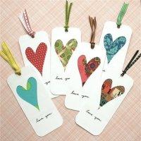 DIY: Puntos de libro corazón
