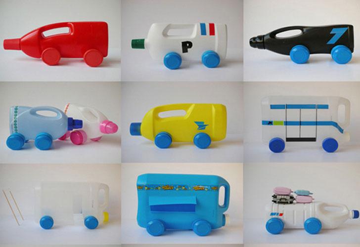 Coche De Material Reciclable Minibu