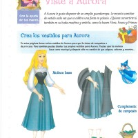 Princesas Disney recortables