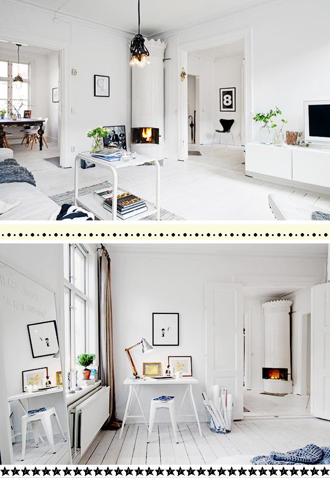 Decoracion Escandinava Ni?os ~   escandinavo , decoraci?n en blanco y negro , decoraci?n escandinava