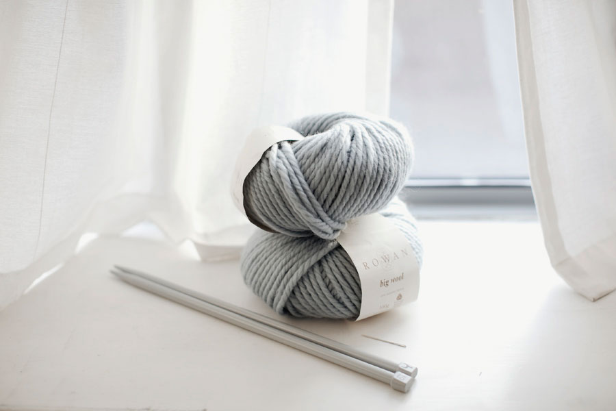 Cómo tejer un cuello de lana bien calentito – Minibu