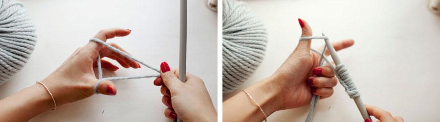 Cómo tejer un cuello de lana bien calentito – Minibu 52e0738076f8
