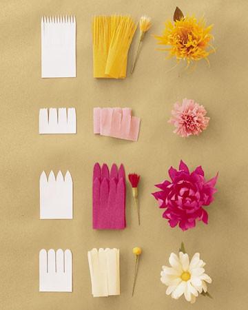 Cmo hacer flores de papel Minibu