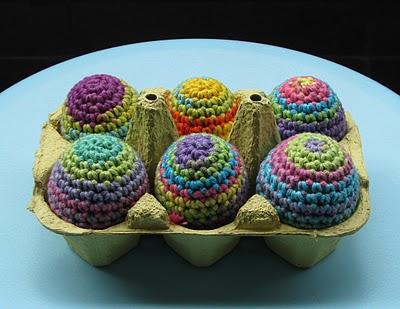 patrón de huevos de pascua de ganchillo – Minibu