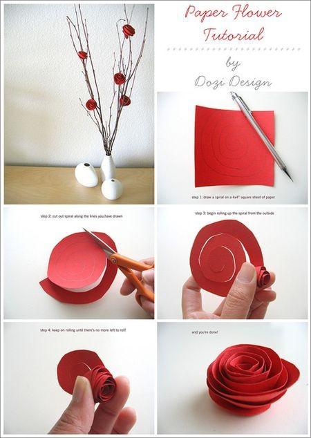 arrancar hojas de libro para hacer rosas puede ser adictivo y contraproducente adems quedan monsimas os va a encantar - Hacer Rosas De Papel