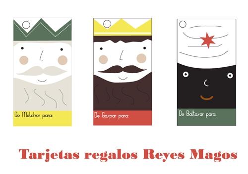 Etiquetas Reyes Magos