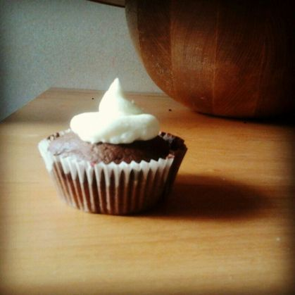 Cupcakes de chocolate y buttercream