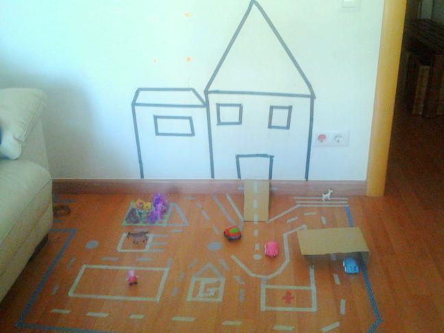 circuito de washi tape