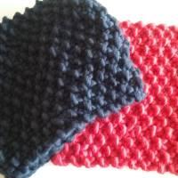 Cómo hacer un cuello de lana para niños